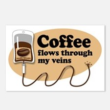 coffeeVein Postcards (Package of 8)