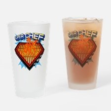 super chef Drinking Glass