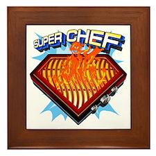 super chef Framed Tile