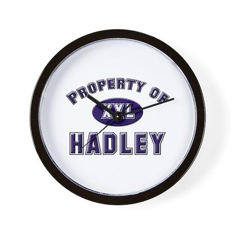 Property of hadley Wall Clock