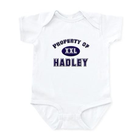 Property of hadley Infant Bodysuit