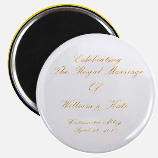 royal-plate2 Magnet