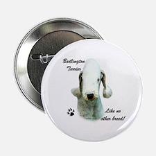 Bedlington Breed Button