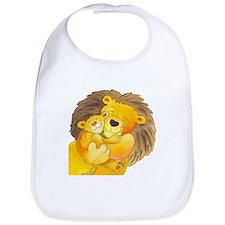 Lion Hug Bib