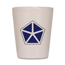 V Corps Shot Glass