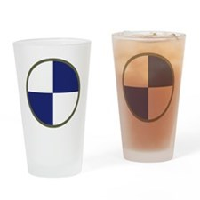 IV Corps Drinking Glass