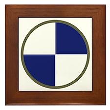 IV Corps Framed Tile