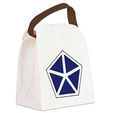 V Corps Canvas Lunch Bag