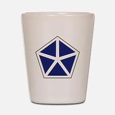 V Corps Shot Glass
