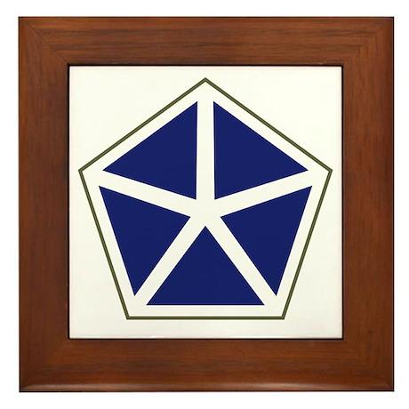 V Corps Framed Tile