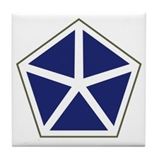 V Corps Tile Coaster
