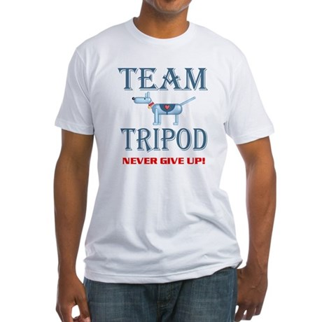 Tripod, Fitted T-Shirt