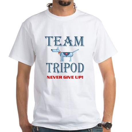 Tripod, White T-Shirt