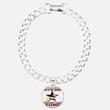 T1_GrandSon Charm Bracelet, One Charm