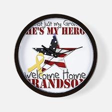 T1_GrandSon Wall Clock