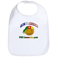 made in america/ Cameroon Bib