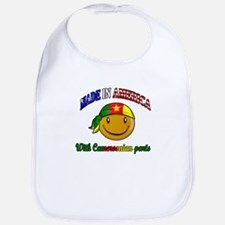 made in america/ Cameroon Bib
