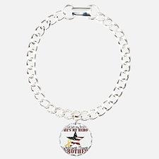 T1_Brother Charm Bracelet, One Charm