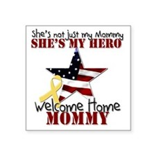 """T1_Mommy Square Sticker 3"""" x 3"""""""