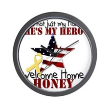 T1_Honey Wall Clock