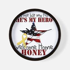 T1_Honey Wall Clock
