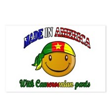 made in america/ Cameroon Postcards (Package of 8)