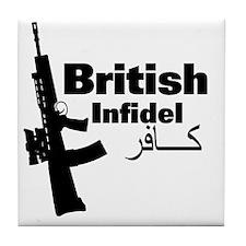 britishinfidel Tile Coaster