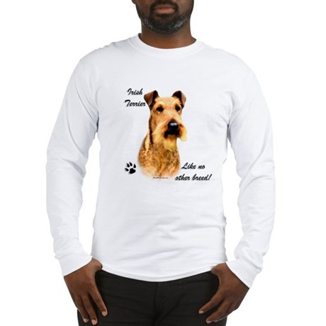 Irish Terrier Breed Long Sleeve T-Shirt