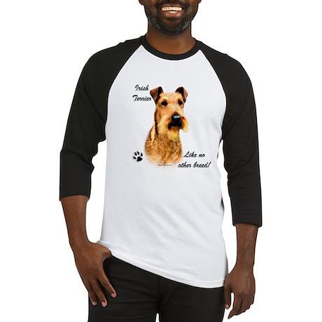 Irish Terrier Breed Baseball Jersey