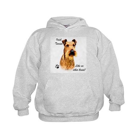 Irish Terrier Breed Kids Hoodie