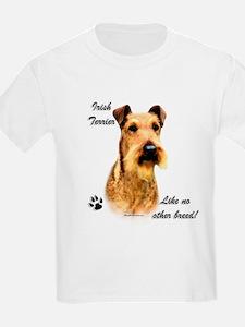 Irish Terrier Breed Kids T-Shirt