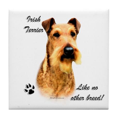 Irish Terrier Breed Tile Coaster
