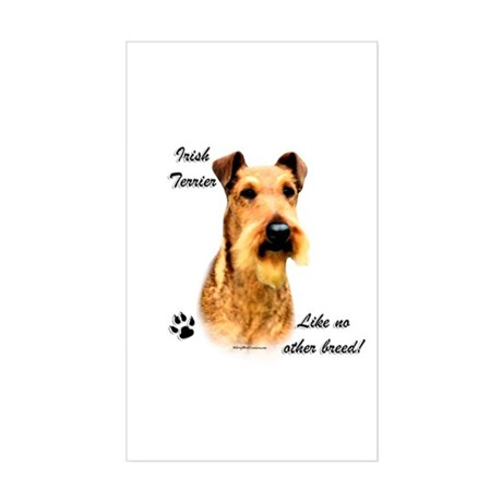 Irish Terrier Breed Rectangle Sticker