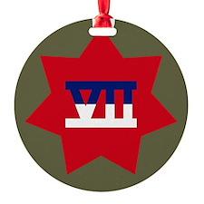 VII Corps Ornament