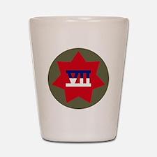 VII Corps Shot Glass