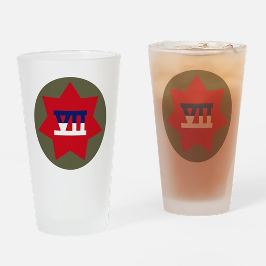 VII Corps Drinking Glass