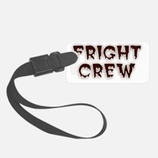 Fright Crew Halloween Luggage Tag