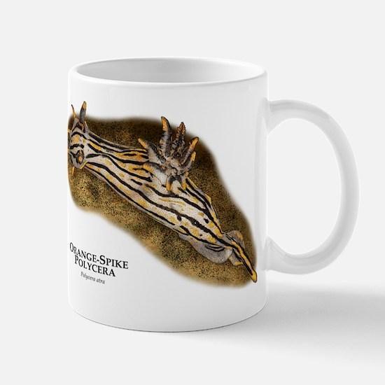 Orange-Spike Polycera Mug