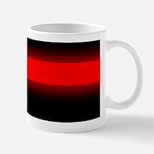 thin red line bumper sticker 4 Mug