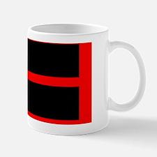 Red Border Thin Red Line Mug