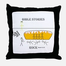 Shadrach, Meshach, and Abendego Throw Pillow