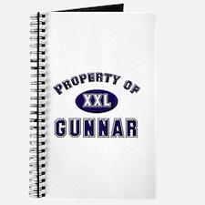 Property of gunnar Journal