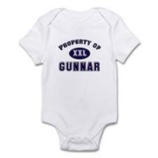 Property of gunnar Infant Bodysuit