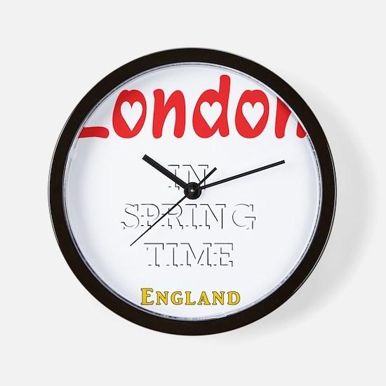London_10x10_apparel_Love_InSpringtime_ Wall Clock