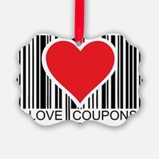 I-Love-Coupons Ornament