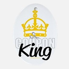 Coupon-King Oval Ornament