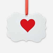 I-Love-Coupons-blk Ornament
