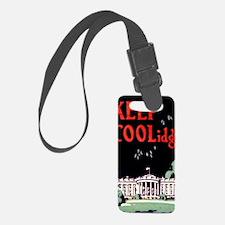 Calvin Coolidge Campaign: Keep C Luggage Tag