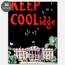 Calvin Coolidge Campaign: Keep Coolidge Puzzle