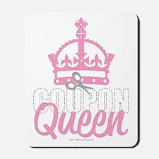 Coupon-Queen Mousepad